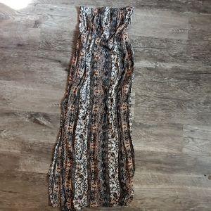 🎀 Halter maxi dress